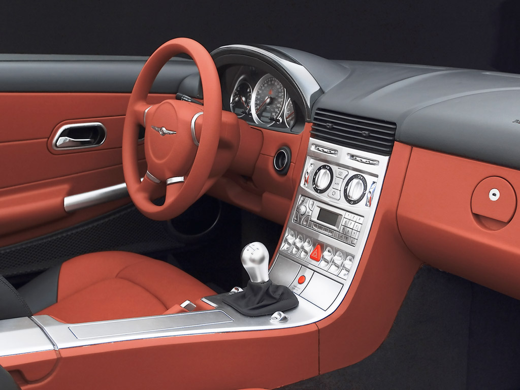 Chrysler crossfire interieur