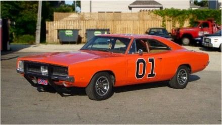 General Lee, une Dodge Charger R/T de 1969