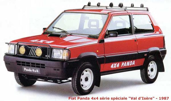fiat panda 4 4 un pur tout terrain en miniature boitier rouge. Black Bedroom Furniture Sets. Home Design Ideas
